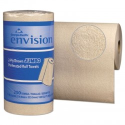 Georgia Pacific Professional Perforated Paper Towel 11 x 8 4|5 Brown 250 Sheets per Roll