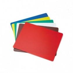 Cutting Board Set Assorted Colors 12x18x1/2