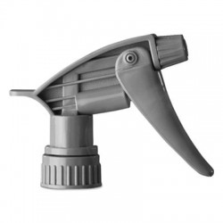 Boardwalk Chemical-Resistant Trigger Sprayer 320CR Gray 9.5Tube