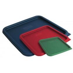 Cover for Square Food Storage Containers Fits 2Qt & 4Qt Green