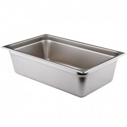 Steam Table Pans Stainless Steel Standard Weight Regular Pans / NSF-18/8 1/6-Size 6