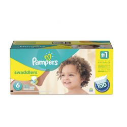 Pampers Swaddlers Diapers Size 6: 35 to 43 lbs