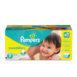 Pampers Swaddlers Diapers Size 5: 27 - 34 lbs