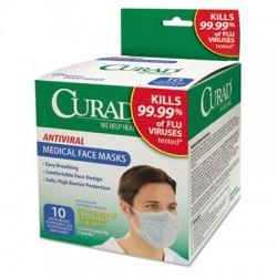 Curad Antiviral Medical Face Mask Pleated