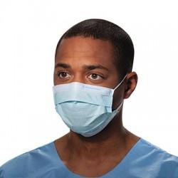Kimberly-Clark Professional Procedure Mask Pleat-Style w/Ear Loops Blue