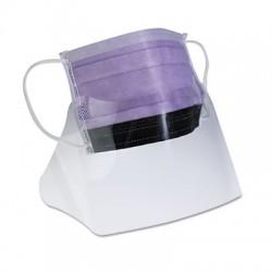 Medline Prohibit Face Mask with Eyeshield Polypropylene & Cellulose Purple