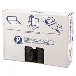 HIGH-DENSITY CAN LINER 40 X 48 45-GALLON 12 MICRON BLACK
