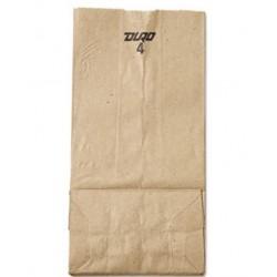 4 Paper Grocery Bag 30lb Kraft Standard 5