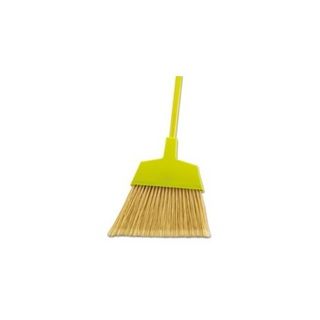 BOARDWALK Poly Bristle Angler Broom 53 Handle Yellow