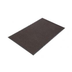 Crown Needle Rib Wipe & Scrape Mat Polypropylene 36 x 60 Brown