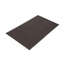 Crown Cross-Over IndoorOutdoor WiperScraper Mat OlefinPoly 36 x 60 Brown