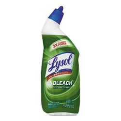 LYSOL Brand Disinfectant Toilet Bowl Cleaner with Bleach - Liquid 24 oz Bottle