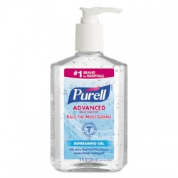 PURELL Advanced Instant Hand Sanitizer 8oz Pump Bottle
