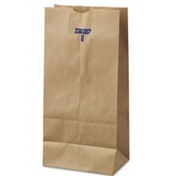 8 Paper Grocery Bag 35lb Kraft Standard 6