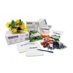 Inteplast Group Get Reddi Food & Poly Bag 10 x 8 x 24 22-Quart 0.85 Mil Clear