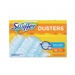 Refill Dusters Dust Lock Fiber Light Blue Unscented