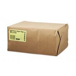 12 Paper Grocery Bag 40lb Kraft Standard 7