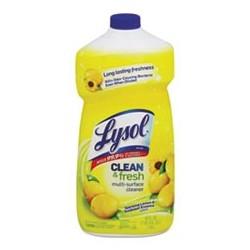LYSOL Brand Clean & Fresh MultiSurface Cleaner Lemon & Sunflower Essence 40 oz Bottle