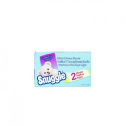 Snuggle Vend-Design Fabric Softener Sheets Blue Sparkle