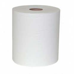 White Roll Towels Universal 8X800 Bleached Hardbound