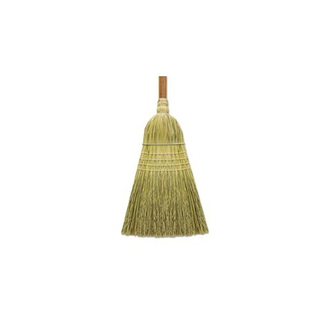 Boardwalk CornFiber Warehouse Brooms 60 Gray/Natural