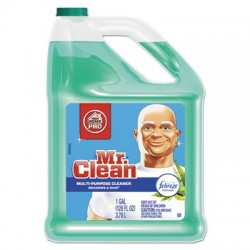 Mr. Clean Multipurpose Cleaning Solution with Febreze 128 oz Bottle Meadows & Rain Scent