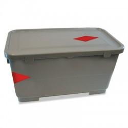 Boardwalk Microfiber Charging Bucket 6 gal Polypropylene Gray 11 x 21 x 11 .5