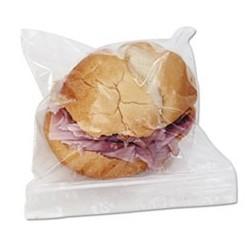 BOARDWALK- Reclosable Food Storage Bags Sandwich Bags 1.15 mil 6 1|2 x 5 8|9