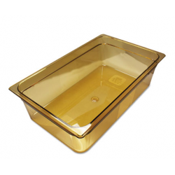 Rubbermaid Hot Food Pans Amber