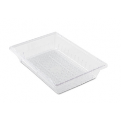 Rubbermaid ProSave Colander for Food Box Clear Plastic 18W x 26D x 5H