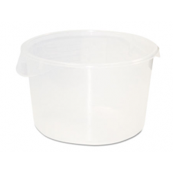 Rubbermaid Round Storage Containers 12qt Clear