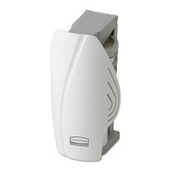 RUBBERMAID-  Commercial TCell Odor Control Dispenser 2-1|2 x 5-1|4 x 2-3|4 White