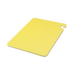 San Jamar Cut-N-Carry Color Cutting Boards Plastic  Yellow