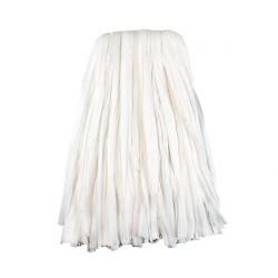 Nonwoven Cut End Edge Mop Rayon/Polyester 24 White