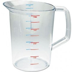 RUBBERMAID BOUNCER MEASURING CUP 4QT CLEAR