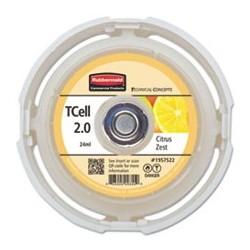 RUBBERMAID- Commercial TC TCell 2.0 Air Freshener Refill Citrus Zest 24 mL Cartridge