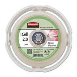 RUBBERMAID- Commercial TC TCell 2.0 Air Freshener Refill Spring Blossoms 24 mL Cartridge