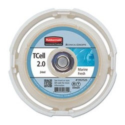 RUBBERMAID- Commercial TC TCell 2.0 Air Freshener Refill Marine Fresh 24 mL Cartridge