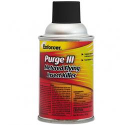Enforcer Purge III Metered Flying Insect Killer 6.4 oz Aerosol Fresh Scent