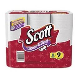 SCOTT- Choose-a-Size Mega Roll White 102 per Roll