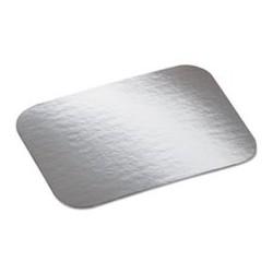 Laminated Board Lid Aluminum/Paper 7 x 5