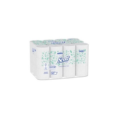 Coreless 2-Ply Roll Bathroom Tissue 1000 Sheets/Roll