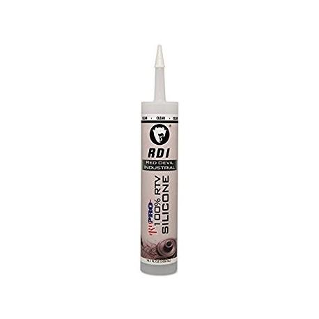 Red Devil RD PRO Industrial Grade RTV Sealants 10.1 oz Cartridge Clear
