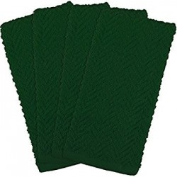 Hunter Green 15 x 25 2.50lb Kitchen Towels White/Green Combination Checked (12) Count each pack