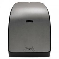 Kimberly-Clark Professional MOD Touchless Manual Towel Dispenser 12.66 x 9.18 x 16.44 Brushed Metallic