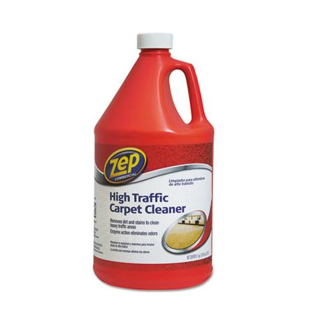 Zep Commercial High Traffic Carpet Cleaner 128 oz Bottle