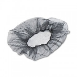 Royal Paper Products HAIRNET 24IN BLACK