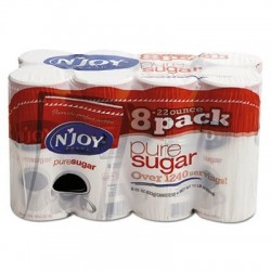 NJoy Pure Sugar Cane 22 oz Canisters