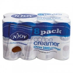 NJoy Non-Dairy Coffee Creamer 16 oz Canister