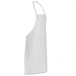 DuPont Tyvek Apron White One Size Fits All